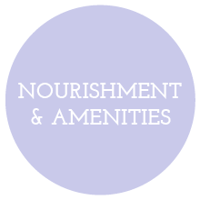Nourishment & Amenities